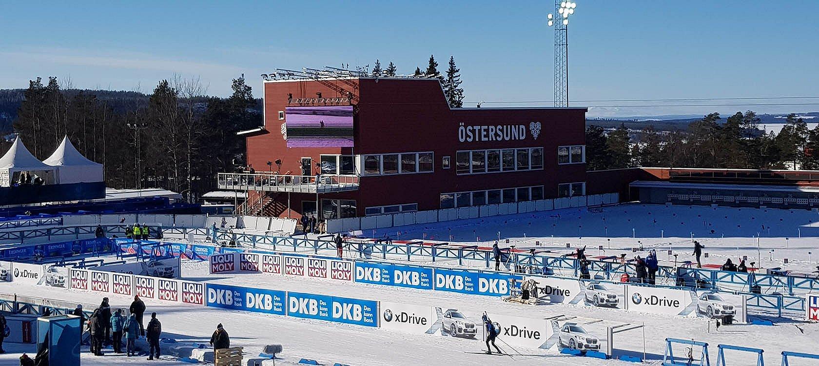 Start zur Biathlon-WM in Östersund | Swiss Ski